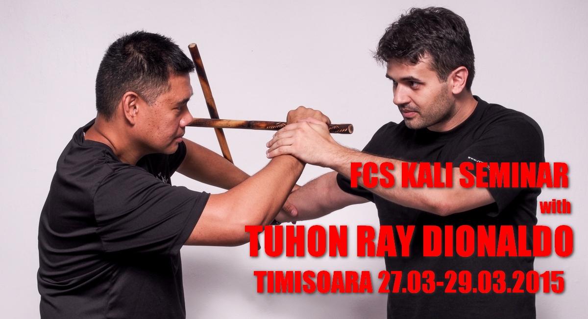 FCS Kali Seminar with Tuhon Ray Dionaldo